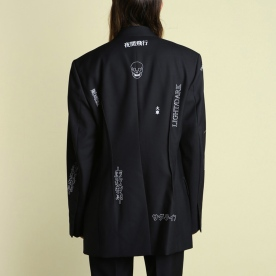 Hyein Seo - Graphic Suit Jacket