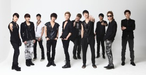 Some members of the band 'Super Junior'