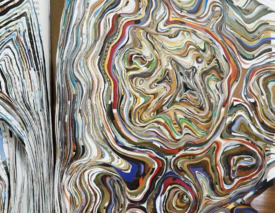 """Noriko Ambe 'flat globe """"minimalism""""' (detail), 2006"""