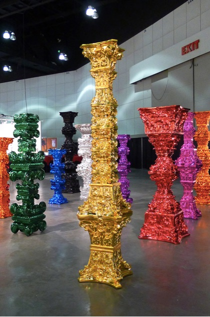 Choi Jeong Hwa - Present of the Century - Gold, 2013 (courtesy of Artsy)